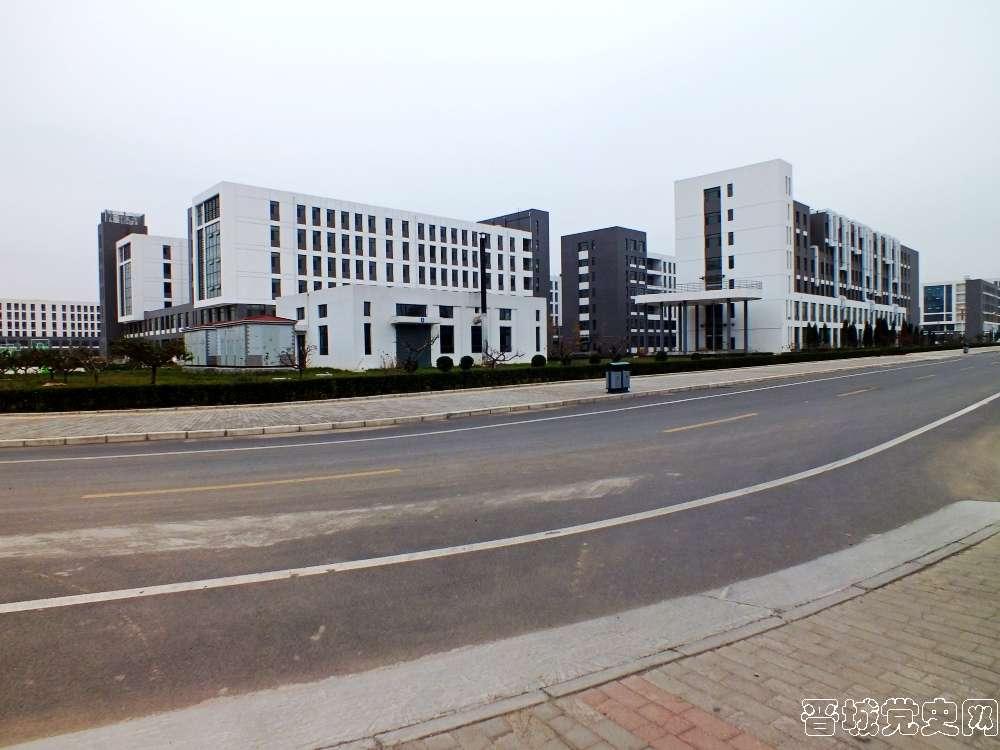 3、太原科技大学晋城分校校园风景(摄影:韩卓洋)-晋城党史网
