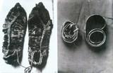 (13)晋城红军战士江玉山穿过的草鞋和系过的腰带