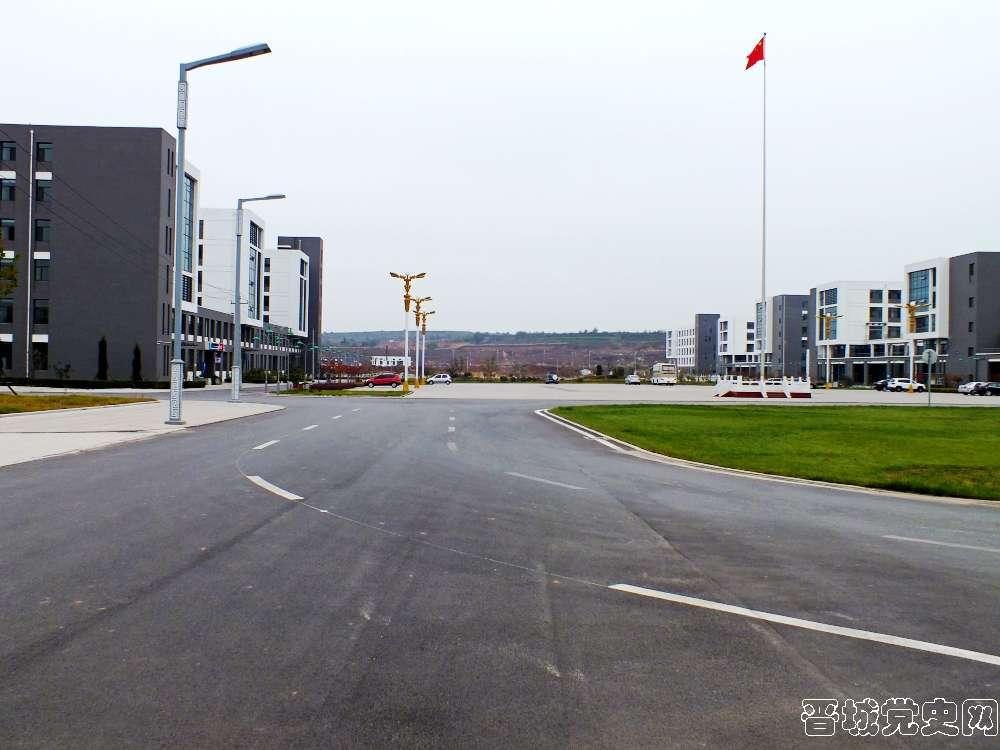 6、太原科技大学晋城分校校园风景(摄影:韩卓洋)-晋城党史网